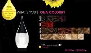 Olia Colour Chart Scott Cornwall Hair Expert Garnier Olia Oil Based Colourant