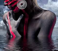 original yoga painting omwoman yoga meditate. Pink, Circle, Spiritual, Earring, Jewellery, Posing, Face, Sculpture, Clouds, Meditation, Head, Skin, Yoga, Surreal, Center, Sexy, Experience, Painted Original Yoga Painting Omwoman Meditate 5