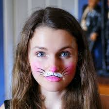 image of bunny face paint pictures