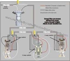 4 way switch wiring diagram home electrical wiring 4 way switch wiring diagram