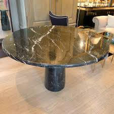 round marble dining table italy c 1960