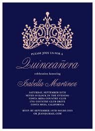 Invitation Quincenera Quinceañera Invitations Match Your Color Style Free