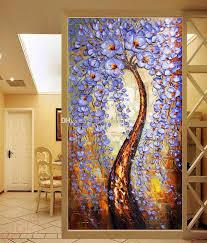 free the tree of life wallpaper knife painting wall mural custom 3d wallpaper bedroom living room hallway hotel art room decor printing on canvas