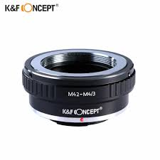 K&F Concept Lens <b>Adapter</b> for Canon for EOS EF mount Lens to M4 ...