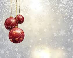 silver christmas background. Delighful Background Silver Christmas Background With Red Baubles Free Vector And Background E