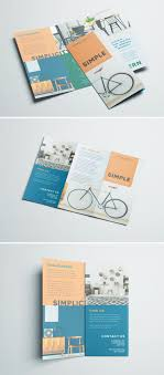 One Page Brochure Design Inspiration Simple Tri Fold Brochure Pamphlet Design Brochure Design