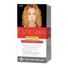 amazon color oops developlus color oops color remover extra strength beauty