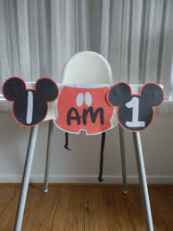 how to make a diy mickey mouse high chair banner with free template printables