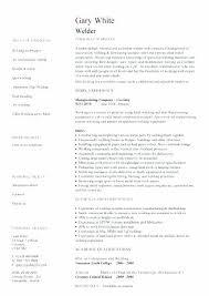 Welder Resume Cool Entry Level Welder Resume Sample Welding Template Examples Templates