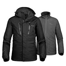 OutdoorMaster <b>Men's</b> 3-in-1 <b>Ski Jacket</b> - Winter Jacket <b>Set</b>