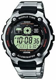 Наручные <b>часы CASIO AE</b>-<b>2000WD</b>-<b>1A</b> — купить по выгодной ...