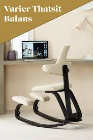 room ergonomic furniture chairs: the chair for an active mind and strong posture varier thatsit kneelingchair