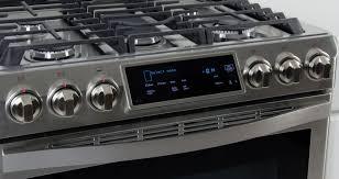 samsung 36 gas range. Modren Range The Samsung Chef Collection NX58H9950WS Slidein Gas Range Credit  With 36 Gas Range