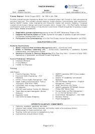 Process Engineer Resume Process Safety Engineer Resume Resume