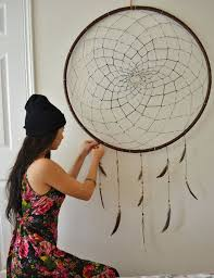 Giant Dream Catchers Stunning GIANT Dreamcatcher New Nest Pinterest Bedrooms Dream Catchers