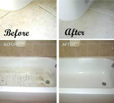 cleaning bathtub with baking soda and vinegar ideas quoet clean tub