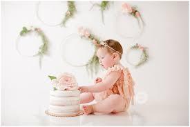 Cake Smash Girl Ideas Orange County Newborn Photographer Anaheim