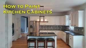 how to paint kitchen cabinets with a sprayer not a brush and roller ourhouse diy