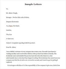 Funny Complaint Letter 10 Free Word Pdf Documents Download
