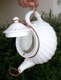 17 best ideas about rain bird teapot birdhouse teapot birdhouse i d so put this at the top or end of a
