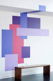 Best 25+ Geometric wall paint ideas on Pinterest | Geometric wall, Office  wall paints and Pink feature wall