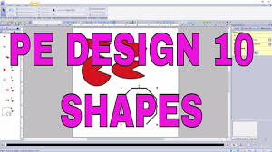 Youtube Pe Design 10 Pe Design 10 Make Fast And Easy Perfect Shapes With The