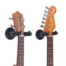 high quality ukulele wall hanger horizontal guitar holder rack hook free