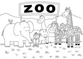 baby zoo animals coloring pages. Baby Animal Coloring Pages Fabulous Animals Printable Lovely Zoo Unique With