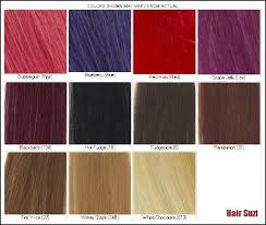 Loreal Red Hair Colour Chart