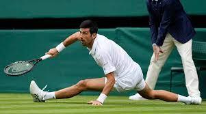Centre Court as Novak Djokovic wins ...
