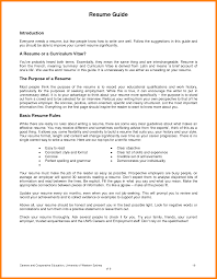 Awesome Collection Of How To Do A Resume For First Job Marvelous My