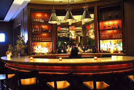 candle lighting ideas. furniture restaurant bar design ideas with nice pendant lamp wine racks candle lights lighting