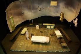 Diary Of Anne Frank Set Design An Interview With Morgan Large Designer Of The Diary Of