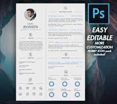 Graphic Designer Resume Template Modern Resume CV Template 100 Graphic Design Resume 18