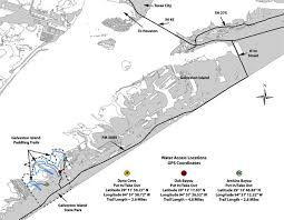 West Galveston Bay Depth Chart Galveston Bay Map With View Of West Bay Fishing Coves Ideal