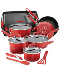 Macys Kitchen Appliances Rachael Ray 14 Pc Nonstick Cookware Set Only At Macys Head To