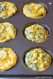 spinach scramble egg muffins a spicy perspective