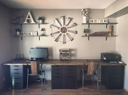 Home office decor Elegant 100 Charming Farmhouse Decor Ideas For Your Home Office Check Out This farmhouse Style Omniwearhapticscom 100 Charming Farmhouse Office Decor Ideas For Your Home