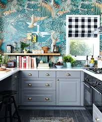 wallpaper for kitchen the whole kitchen done with the same colorful wallpaper that makes a bold wallpaper for kitchen
