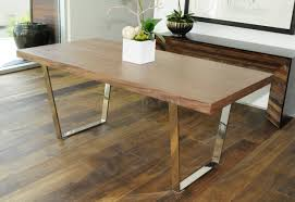 wood metal dining table. Wood Metal Dining Table T