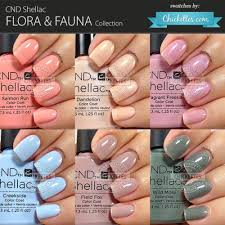 Cnd Shellac Flora Fauna Collection Swatches By