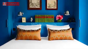 blue wall paint bedroom. Simple Blue 30 Best Blue Wall Paint Bedroom Design Ideas 2017  MO Channels Inside A