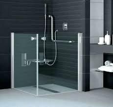 terrific barrier free shower doors half height shower door disabled shower cubicles barrier free shower enclosures