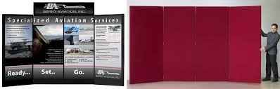 Free Standing Display Boards For Trade Shows Four Panel Partition Displays Large Display Boards 62
