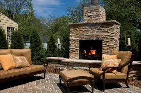 outdoor fireplaces brick com within fireplace decorations 3
