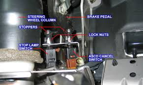 need help removing brake light switch maxima forums