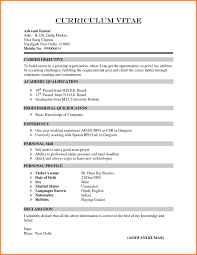 Different Resume Formats 3 Types Of It Format Free Download Cv
