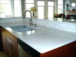 ikea white countertop kitchen backbone of your island laminate block acrylic edges