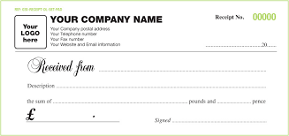 Cash Receipt Forms Receipt For Money Received Template 6 Free Cash Receipt Templates