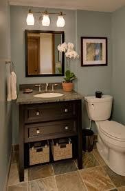 Decorative Accessories For Bathrooms Bathroom Half Bathroom Decorating Ideas With Flower Vase And
